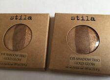 Stila Sombra de Ojos Trío en resplandor de bronce grande 2 X 2.6g Recargas