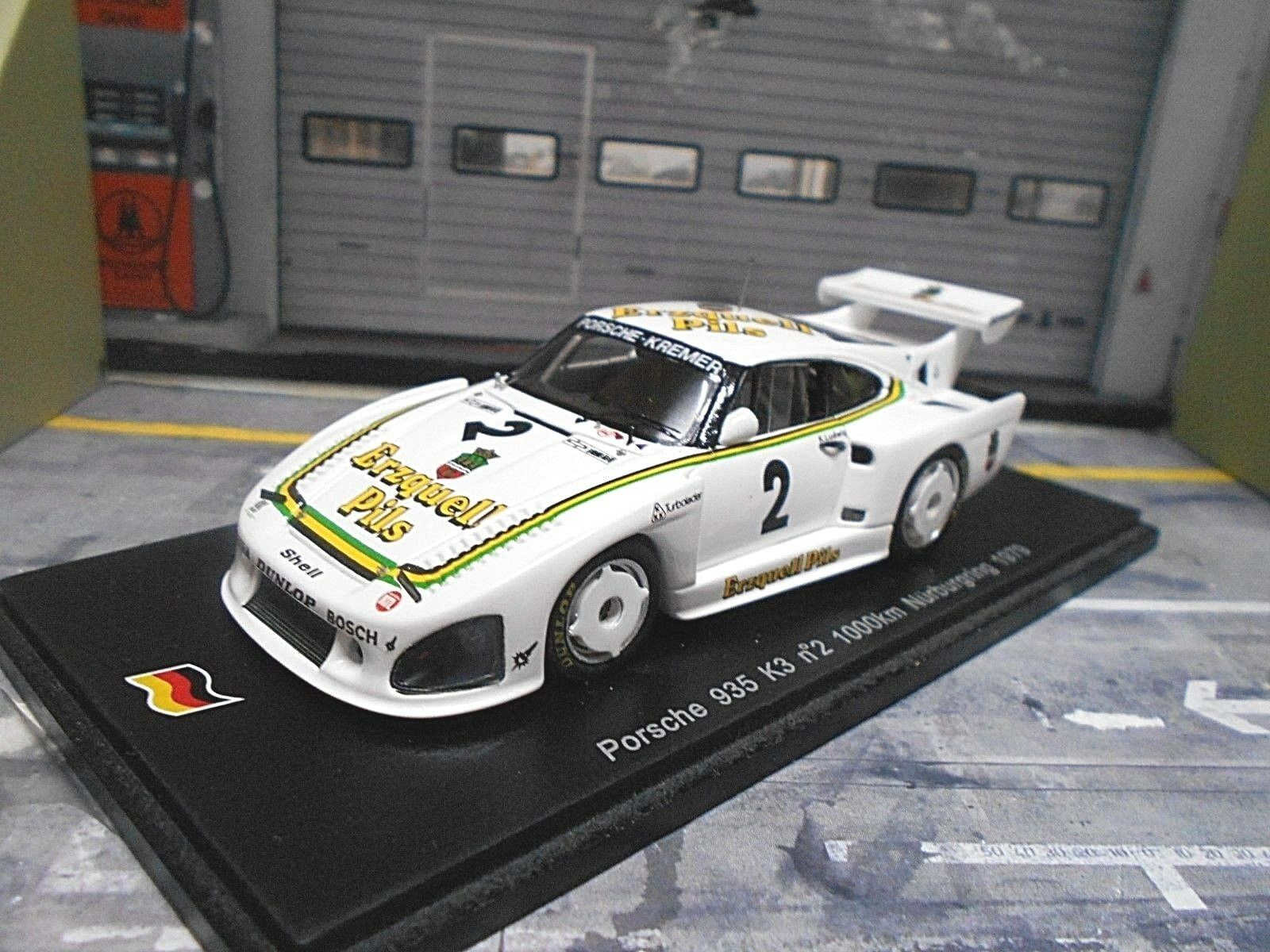 PORSCHE 935 Turbo K3 Kremer 1000 Nürburgring 1979  2 Erzquell Ludwig Spark 1 43