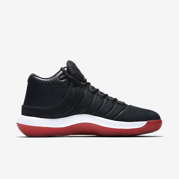 Nueva 921203 001 2018 hombres / Jordan super.fly 2018 001 zapatoRojo Negro 84c8d9