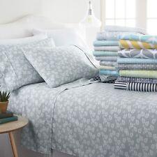 Home Collection Premium Soft 4 Piece Sheet Set - 18 Designer All-Season Patterns