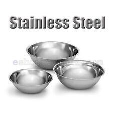 3 PCS Stainless Steel Kitchen Cooking Serving Set Mixing Bowls 3 Sizes B-13328