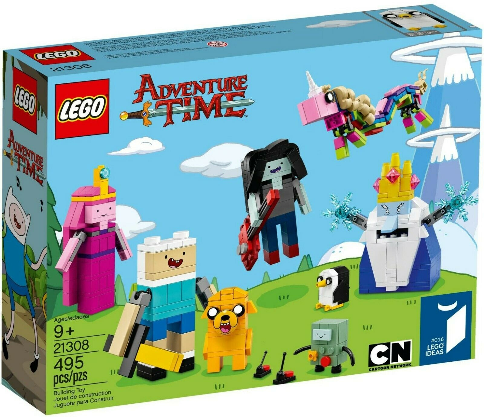 LEGO 21308 - Ideas - Adventure Time (Brick Build Figures Cartoon Network)