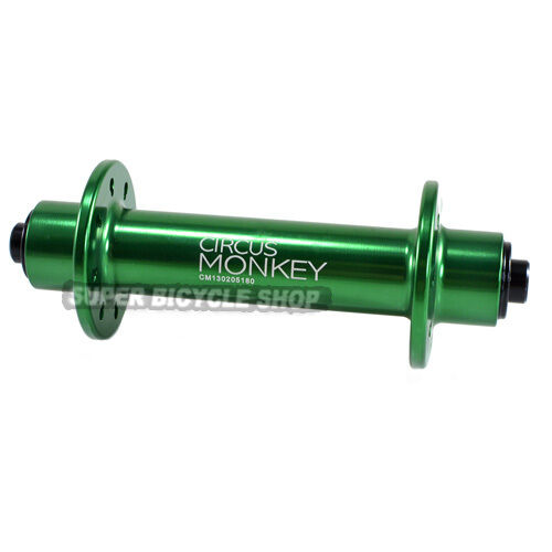 Circus Monkey HRW Road Front Hub,20 Hole, Green
