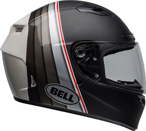 Bell-Black-Silver-White-Qualifier-DLX-MIPS-Illusion-Motorcycle-Full-Face-Helmet