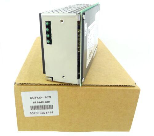 MGV dg4120 Alimentation DC Boutons Régulateur dg4120-1//2g Power Supply 15.9440.200