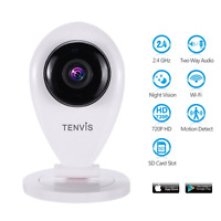 Baby Monitor With Camera - Tenvis Wireless Baby Monitor Night Vision Ip Camera 2