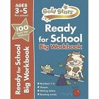 Gold Stars Ready for School Big Workbook Ages 3-5 Pre-school by Parragon Books Ltd (Paperback, 2014)