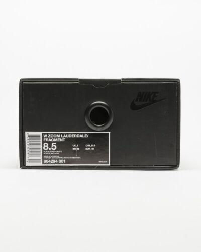4 5uk Lauderdale Noir Nike Men Bnib Design New Fragment Nike Zoom qHWvcwzP