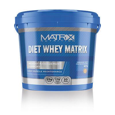 MATRIX DIET WHEY PROTEIN POWDER - SHAKE DRINK - WEIGHT MANAGEMENT - ALL FLAVOURS