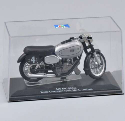 1:22 ITALERI AJS E90 500 cc Motorbike Diecast Motorcycle Model Collection Toy