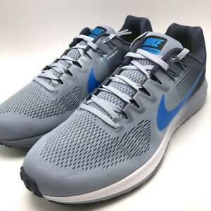 f876e6e537e3 Nike Air Zoom Structure 21 Men s Running Glacier Grey Photo Blue ...