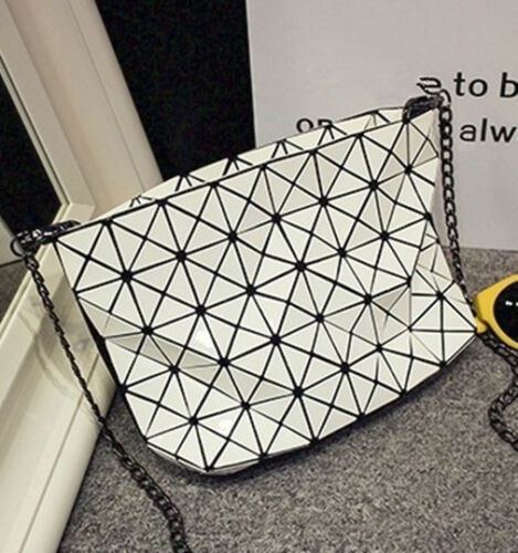 Fashion Women Handbags Bao Shoulder Bags Geometry Plaid Casual Bag @222 New