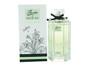 6b3bcbe5 Details about Gucci Flora by Gucci Gracious Tuberose edt Eau de Toilette  Spray 100ml 3.3fl.oz