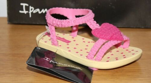 Ipanema Girls My First Sandals Heart Various Colours /& Sizes BNIB