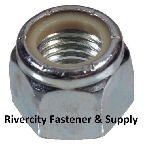 M12-1.5 OR M12 Fine Thread Nylon Insert Lock //Stop Nut Grade 8.8 Steel 12mm 5
