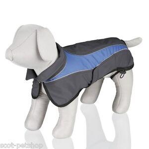 Trixie-Dog-Coat-Avallon-Softshell-Winter-Dog-Coat-Grey-Blue-Choice-Of-Sizes
