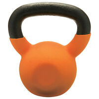 Champion Barbell 30lb Vinyl Coated Kettlebell Orange on sale