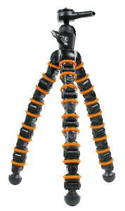 Trépied Flexible 32.5 cm 2kg Noir/Orange