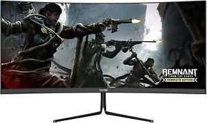 VIOTEK GNV29CB 29In Ultrawide Gaming Monitor Curved 120Hz VA Panel 21:9 FreeSync