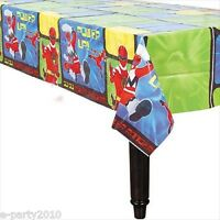 Power Rangers Plastic Tablecover Birthday Party Supplies Room Decoration Cloth