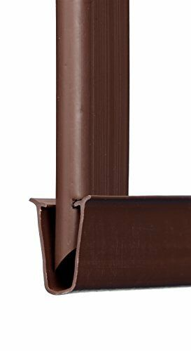 Tube Slats Adds Privacy and Curb Appeal to Your Existing Chain Link 6ft Brown