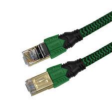 Hama LAN-Kabel Netzwerkkabel für Xbox One Playstation 4 Ethernet CAT6 2,5m grün