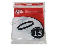 Genuine Dirt Devil Style 15 Vacuum Cleaner Belts 2 Pack