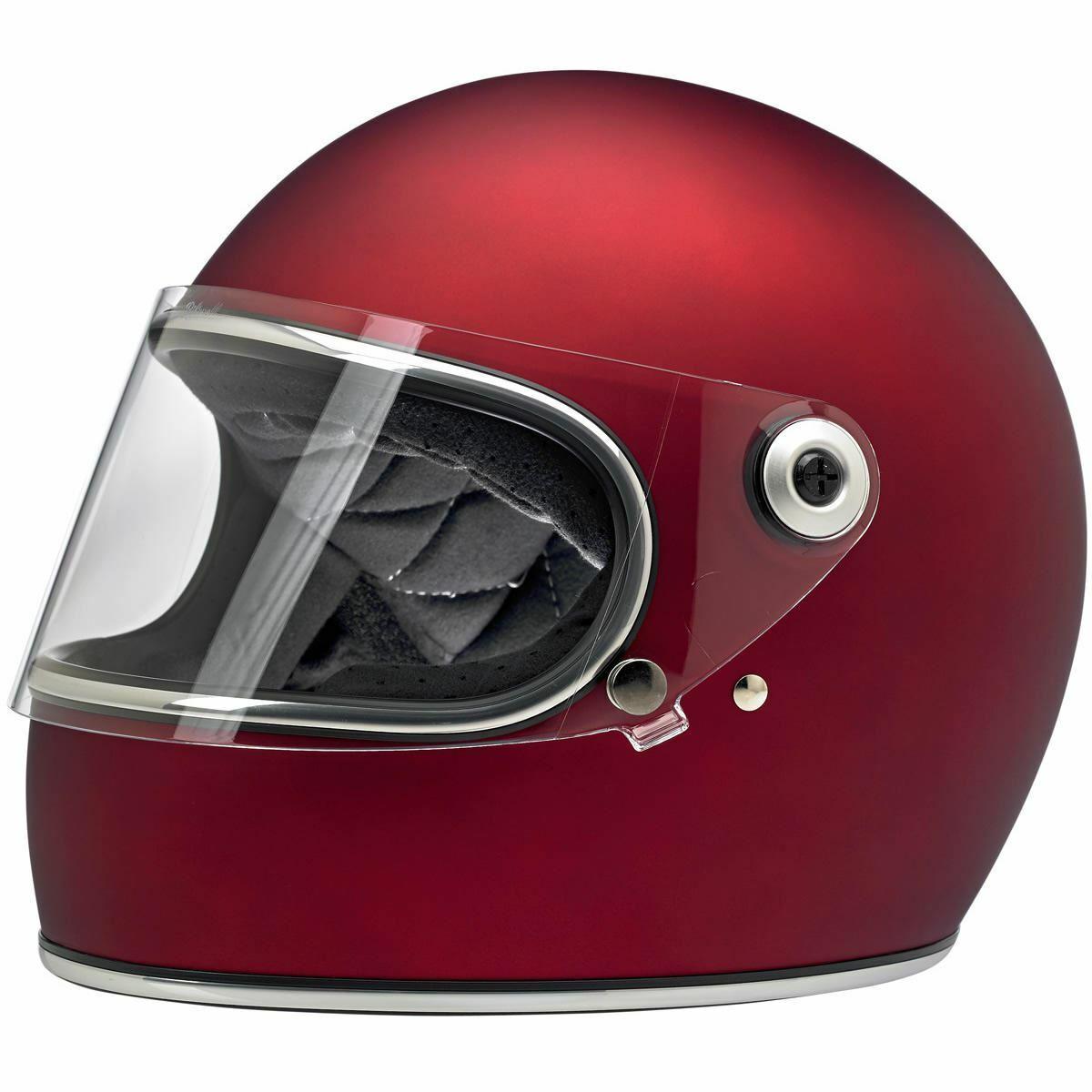 Biltwell Gringo S Rot Motorrad Integralhelm