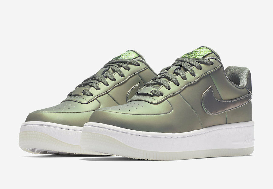 new product a9d6f 3d9b2 ... sale nike di donne af1 premio air force stucco 1 aa3964 001 brillare le  stucco force