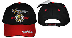 Image is loading MYSTIC-NOBLE-SHRINER-MASONIC-BASEBALL-CAP-FREEMASON -SHRINER- 94e3d15b326