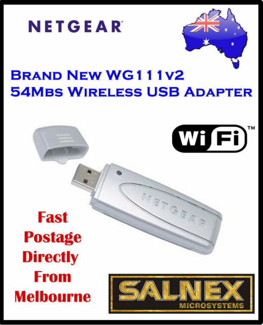WIRELESS USB ADAPTER NETGEAR WG111V2 DRIVER FREE