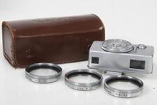 Kodak Retina Camera, Close Up Rangefinder with 3 Supplementary N Lenses
