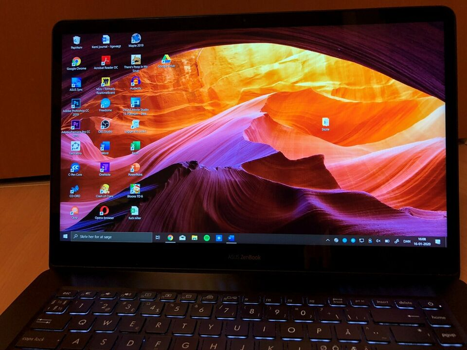 Asus Asus ZenBook Pro 15 2.20 GHz, i7-8750H GHz, 16 GB GB ram