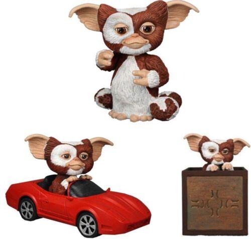 Pull back speedy limited Gremlins Mogwai Gizmo 3er Figur Figuren Set