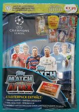 Champions League Saison 2015/16 Starterpack mit 6 coolen Karten (1 in Gold)