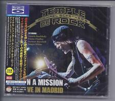 MICHAEL SCHENKER TEMPLE OF ROCK Live In Madrid Sony JAPAN 2 cd  Blu-Spec MSG NEW