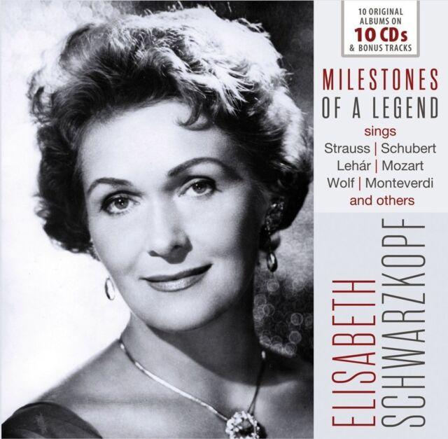 Elisabeth Schwarzkopf - Milestones of a Legend (2017) 10CD Box  NEW  SPEEDYPOST