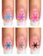 Indexbild 8 - Nail Tattoo Nail Art Schneeflocken Eiskristalle Winter Weihnachten + Glitter