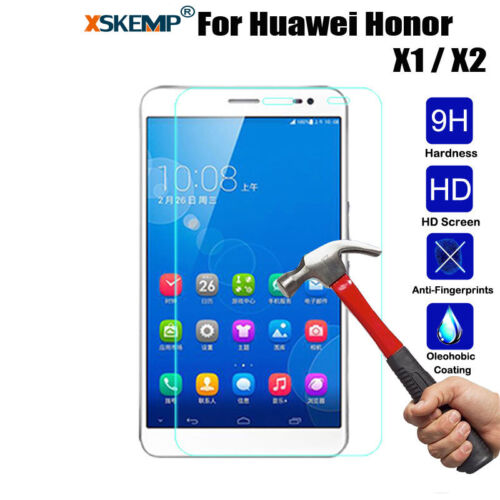 Genuine Tempered Glass Film Screen Protector For Huawei Mediapad T1 M1 M2 X1 X2