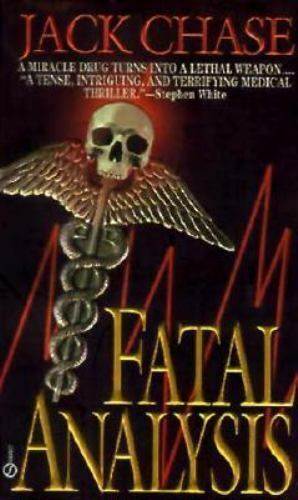 Fatal Analysis by Jack Chase (1996, Paperback)