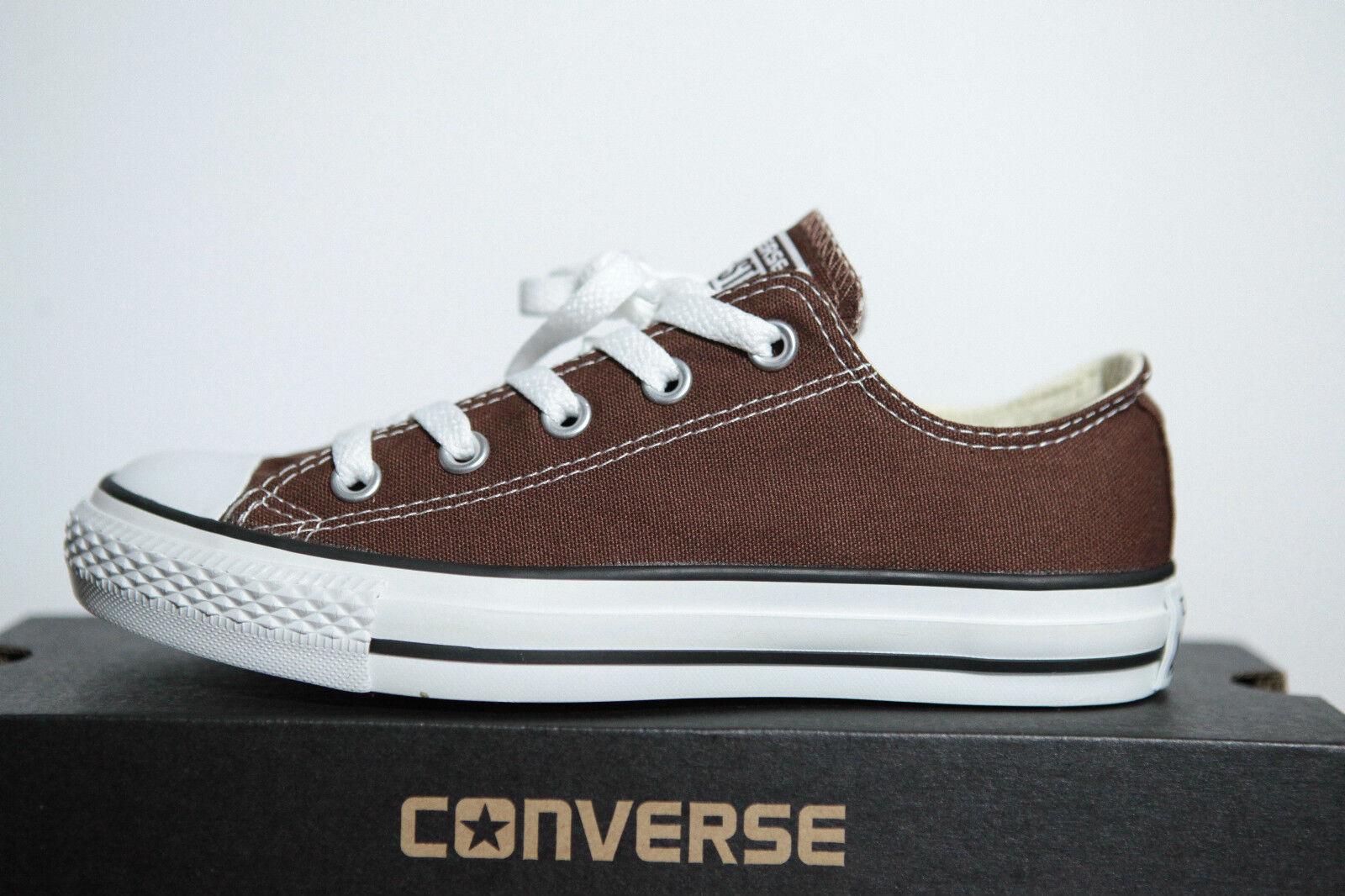Neu All Star Converse Chucks low Sneaker OX Can Chocolate 1Q112 (65) Gr.36,5