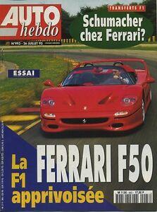 AUTO-HEBDO-n-993-du-26-Juillet-1995-FERRARI-F50-MIKA-SALO