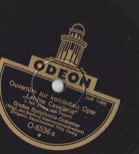 Kapellmeister  Fritz Zweig Staatsoper Berlin  1931 : Leichte Cavallerie Odeon