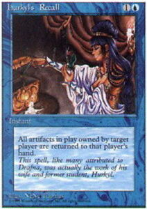 Magic the Gathering ~ 1x Hurkyl/'s Recall ~ Revised ~ M//NM