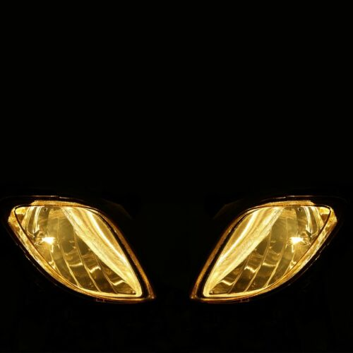 Genesis Coupe 10-12 OEM Front Bumper Fog Light Amber Glass Lens+Switch+Wiring