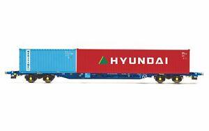 Hornby-R6927-OO-Gauge-KFA-Intermodal-Wagon-Touax