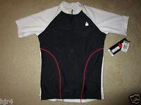Ironman Triathlon Running Cycling Black-white Jersey Womens Lg L