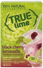 True Lime Limeade Stick Pack Black Cherry 10 Count (1.06oz) Lime Lemonade Stick
