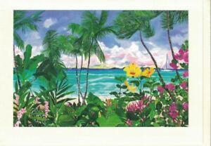 Eileen-Seitz-Sailboat-Beach-ArtCard-Hand-Mounted-5x7-Print-Blank-Card