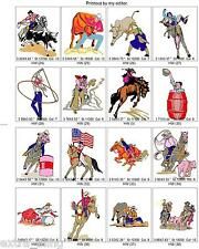 BROTHER SOUTHWEST HORSES, INDIANS, + EMBROIDERY MACHINE DESIGN COLLECTION PES